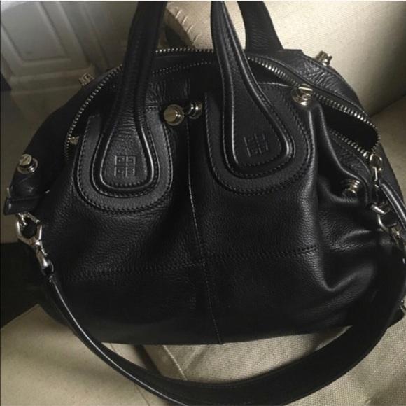 943d49ea18 Givenchy Handbags - Givenchy Nightingale Black leather Studded Bag